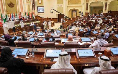 مكتب البرلمان العربي يعقد اجتماعاً لمناقشة تداعيات انتشار فيروس كورونا في العالم العربي