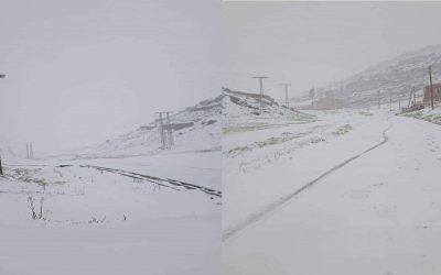 المحطة الثلجية اوكايمدن ترتدي معطفها الأبيض دون زوار