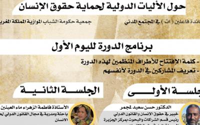"""مؤسسة """"المصدر ميديا"""" تنظم دورة تدريبية عن بعد حول موضوع """"الآليات الدولية لحماية حقوق الإنسان"""""""