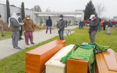 مسلمو إيطاليا يدعون لتخصيص مساحة إضافية في المقابر لدفن موتاهم من ضحايا كورونا