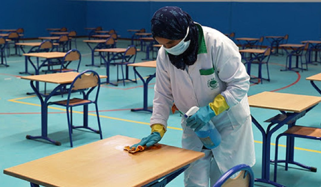 """فيروس """"كورونا"""" يصيب أحد مترشحي امتحانات البكالوريا بفاس"""
