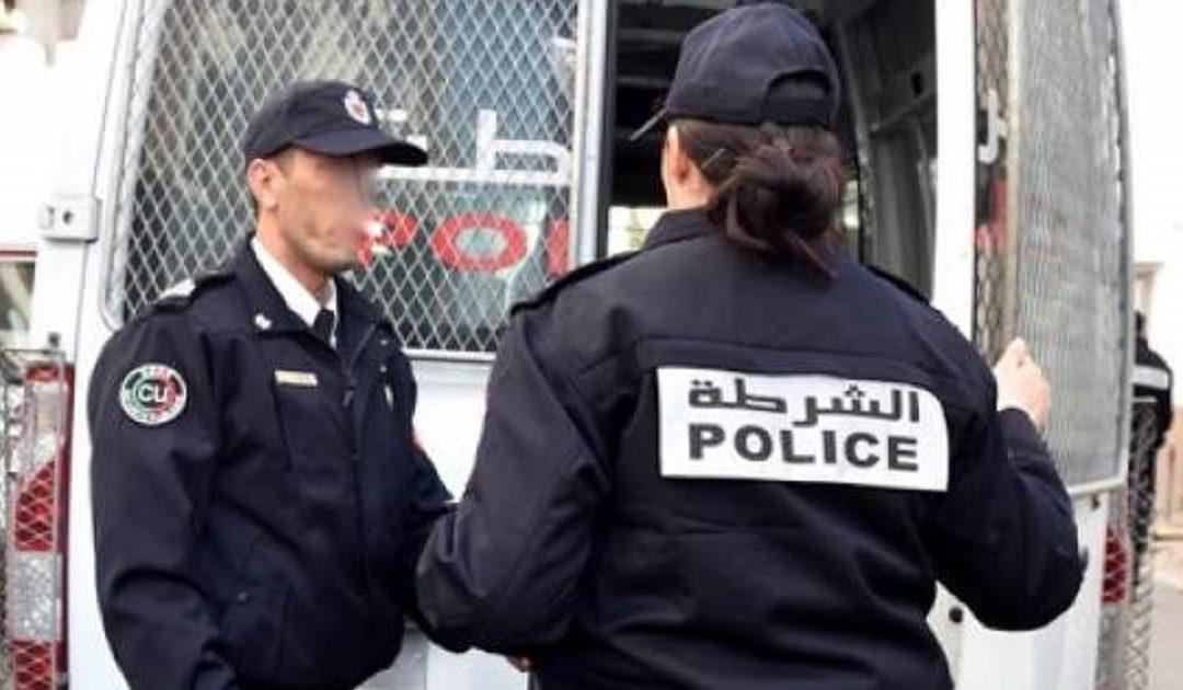 أمن بن مسيك يوقف عشرينيا للإشتباه في تورطه في إحداث الفوضى بالشارع العام