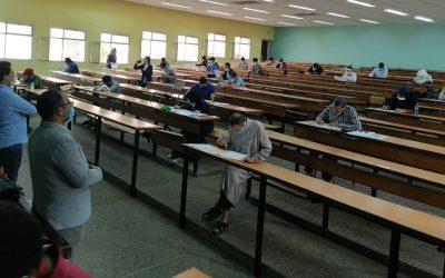 إجراءات مشددة في أولى أيام امتحانات البكالوريا وتطبيق صارم للتدابير الوقائية حفاظا على سلامة التلاميذ والأطر + صور