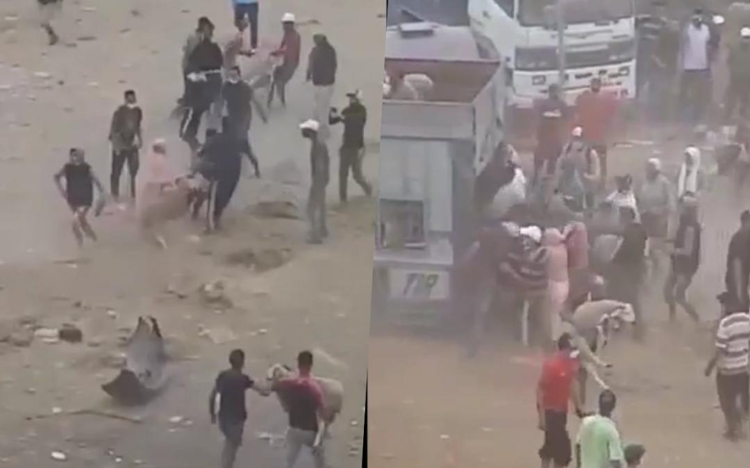 """المغاربة يدينون أعمال العنف وسرقة الاضاحي التي شهدها سوق بيغ الأغنام بمنطقة """"أزماط"""" بالبيضاء"""