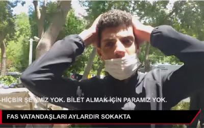 قناة تركية تكشف الوجه الأخر لمعاناة العشرات من المغاربة العالقين بالبلاد +فيديو