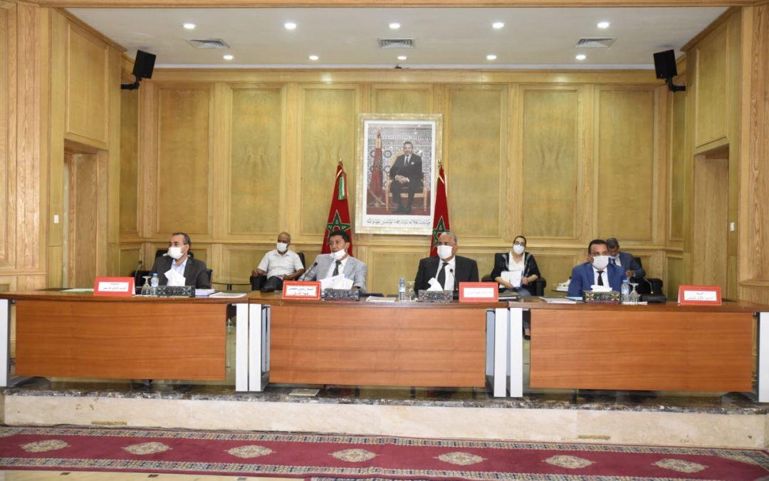 مجلس جهة الشرق يتدارس التداعيات الاقتصادية والاجتماعية لجائحة كورونا –كوفيد 19- على الجهة