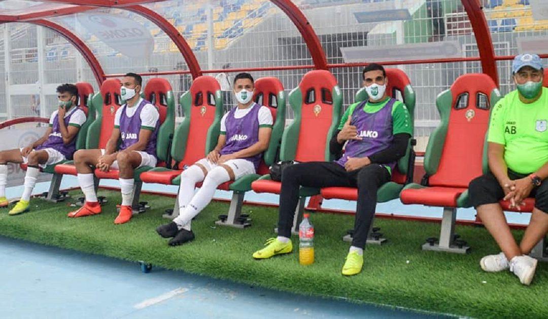 """الدفاع الحسني الجديدي يعلن إصابة أحد لاعبيه بفيروس """"كورونا"""""""