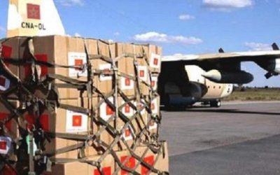 المغرب يرسل مساعدات إنسانية وطبية لفائدة الشعب اللبناني عبر 8 طائرات