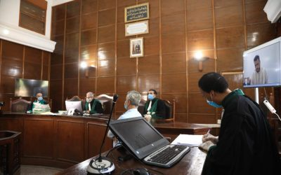 محاكم المملكة تعقد 306 جلسة عن بعد