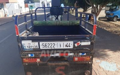 """الدار البيضاء .. سلاح الشرطة يوقف قاصرا يحمل ركابا على متن """"تريبورتور"""" بدون رخصة سياقة"""