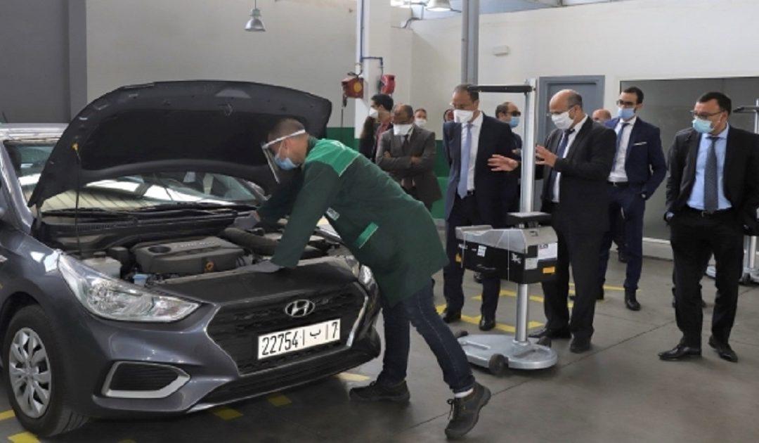 """""""نارسا"""" تعلق الخدمات المقدمة بمركز تسجيل السيارات بمراكش لمنع تفشي """"كورونا"""""""