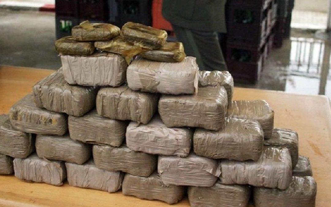 حجز ما يقارب ثلاثة اطنان من مخدر الشيرا باسا
