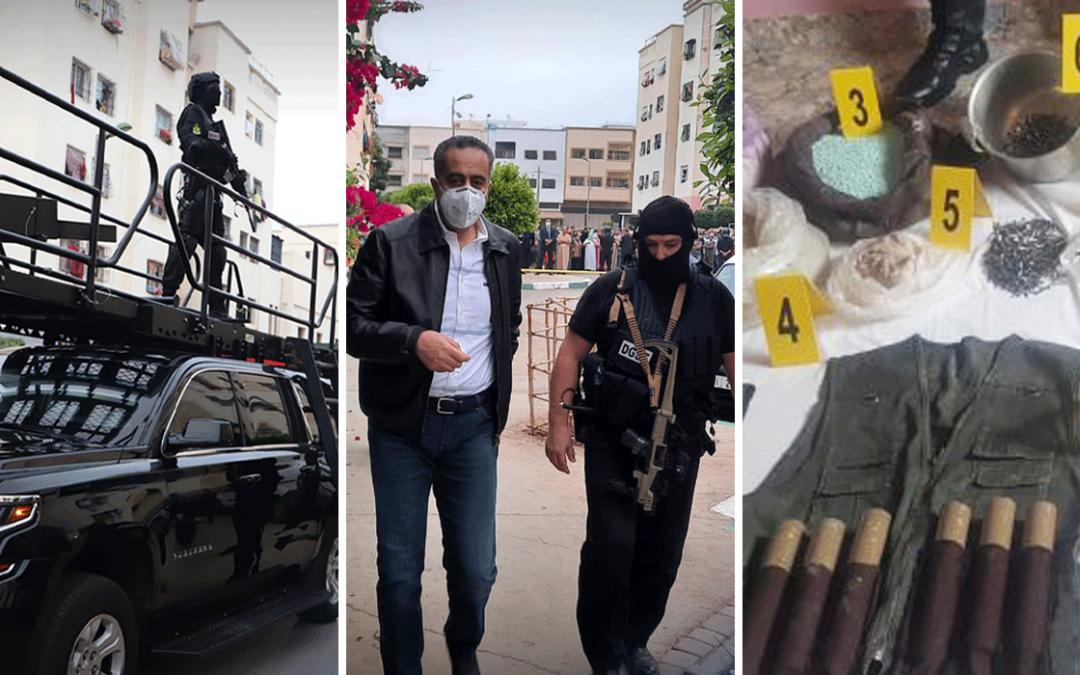 تمارة..العثور على مواد متفجرة داخل عربة تبريد تعود لزعيم الخلية الارهابية