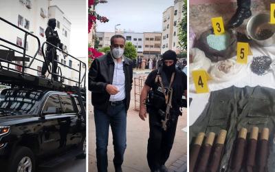 """إستعمال عيارات نارية وقنابل صوتية لتوقيف خمسة """"دواعش"""" بثلاث مدن مغربية"""