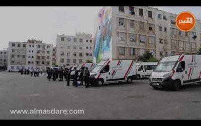 كاميرا المصدر ميديا ترصد إستعدادات الأمن الوطني لضمان سير مقابلة الرجاء والوداد في أجواء عادية