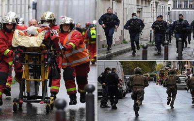 """إصابات بهجوم قرب المقر القديم لـ""""شارلي إبدو"""" في باريس"""