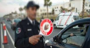 إعتقال مقدم شرطة تحرش بسائقة سيارة