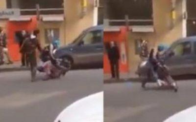 ولاية أمن البيضاء تكشف تفاصيل فيديو سرقة حقيبة يدوية لسيدة بالعنف