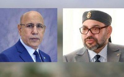 الملك محمد السادس للرئيس الموريتاني: لي كامل اليقين أن العلاقات بين بلدينا ستزداد متانة ورسوخا