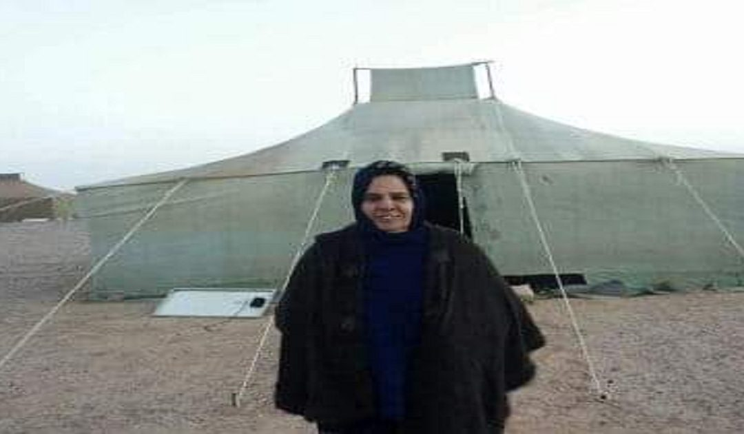 وفاة والدة مصطفى سلمى  وحرمانه من دخول مخيمات البوليساريو