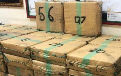 أمن القنيطرة يجهض عملية تهريب أزيد من طن من مخدر الشيرا عبر شاحنة للنقل الطرقي للبضائع