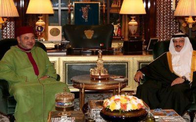 الملك محمد السادس يهنئ عاهل مملكة البحرين بمناسبة عيد بلاده الوطني