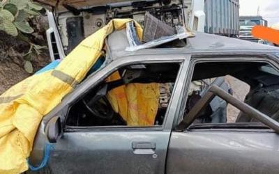 اصابة خمسة اشخاص اثر حادثة سير داخل المدار الحضري بالعيون