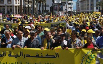 نقابة تعليمية تقرر الإعتصام أمام  وزارة أمزازي