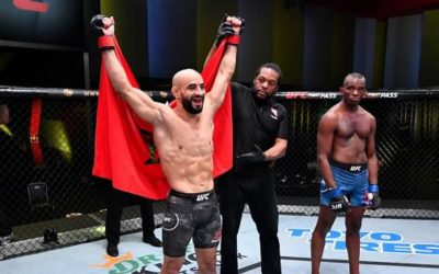 """أسباب انضباطية ترمي بالبطل المغربي عثمان أبو زعيتر خارج منظمة """"UFC"""""""