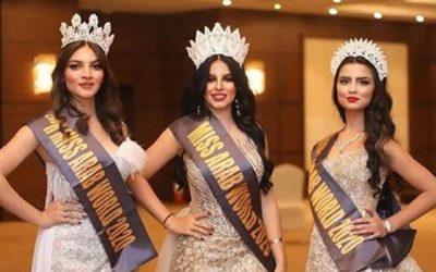 المغربية إلهام بالمخفي تتوج بلقب ملكة جمال العرب لسنة 2020 بأرض الكنانة