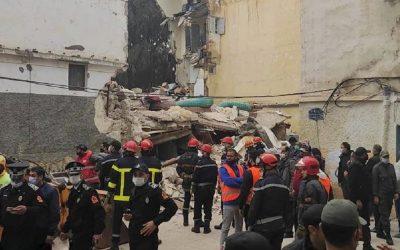 بعد واقعة درب مولاي الشريف ..  انهيار 3 منازل أخرى بالمدينة القديمة بالدار البيضاء