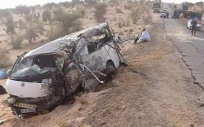 حادثة سير تخلف مصرع 11 شخصا بموريتانيا