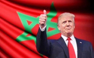 المغرب يوشح ترامب بأرفع وسام ملكي