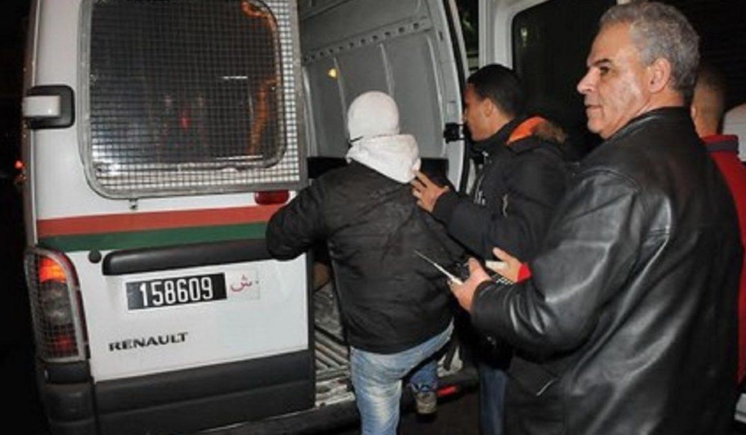 مراكش..توقيف شقيقين بتهمة التبليغ عن جريمة وهمية