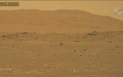 لأول مرة في التاريخ..تحليق أول مركبة ذات محرك فوق كوكب المريخ