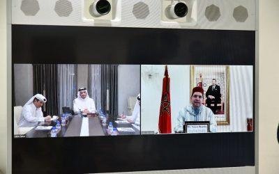تعاون مشترك يجمع المغرب وقطر عبر تقنية الاتصال المرئي