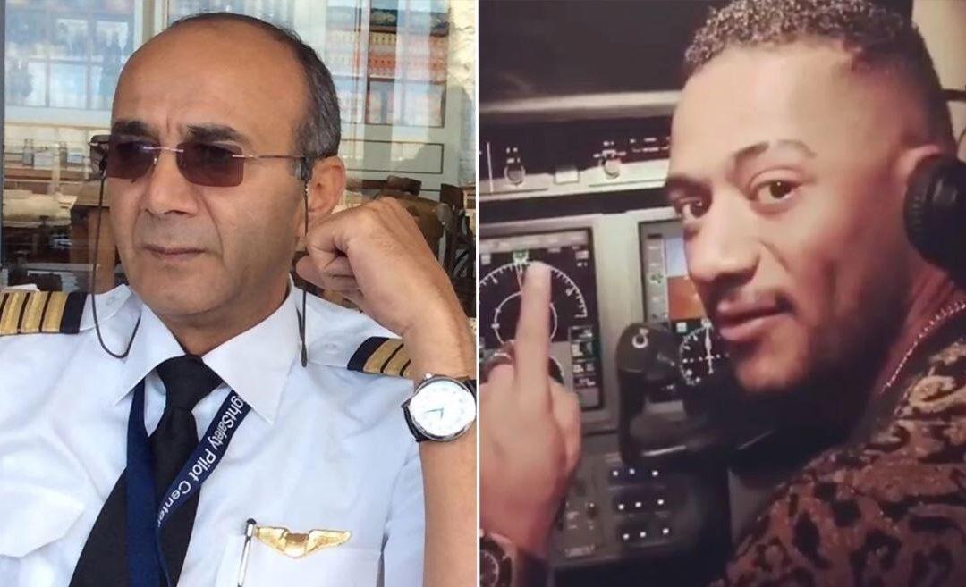 الطيار المصري أبو اليسر المعروف بقضيته مع محمد رمضان يفارق الحياة