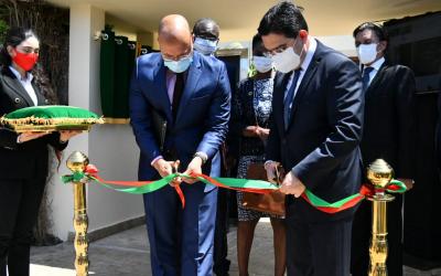 افتتاح مقر مكتب برنامج الأمم المتحدة لمكافحة الإرهاب والتدريب في إفريقيا بالرباط