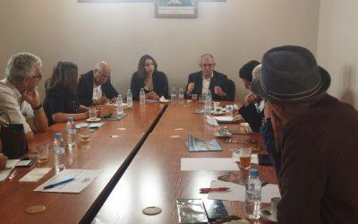 الفضاء السياحي يستقبل وفد من يهود مغاربة بالحوز لإستكشاف المؤهلات الطبيعية بالإقليم
