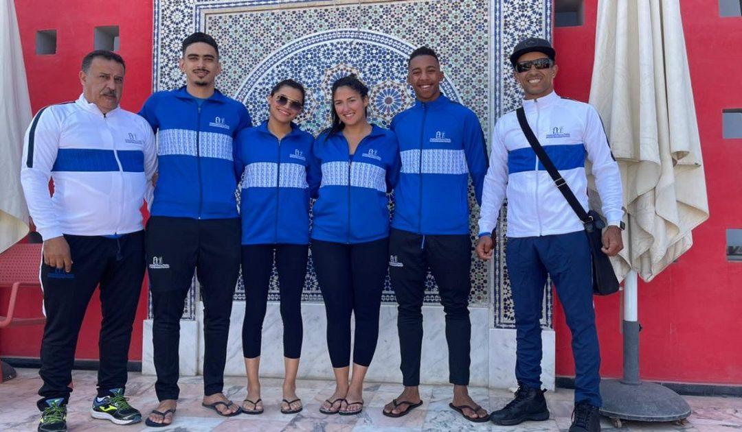 منتخب جامعة محمد الخامس يفوز بالميدالية الذهبية في مباريات الكرة الطائرة الشاطئية