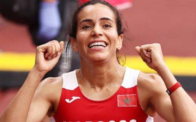 البطلة المغربية رباب العرافي تتأهل إلى نصف نهاية سباق 800 متر موانع بأولمبياد طوكيو