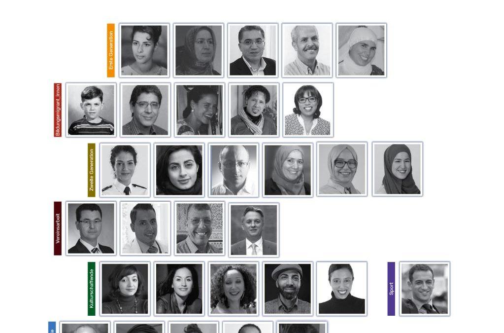 """شبكة الكفاءات المغربية في ألمانيا تصدر مجلد بورتريهات بعنوان """"مسارات مغربية ـ ألمانيـة: تقاطعـات في الحياة والمجتمـع"""""""