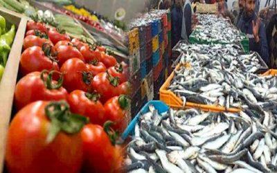 وزارة الفلاحة: قطاع تصدير المنتجات الغذائية الفلاحية ومنتجات الصيد البحري سجل أداء جيدا رغم ظروف الجائحة