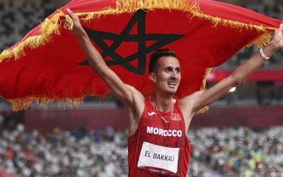 البقالي بعد التتويج الأولمبي: عشت ضغطا رهيبا قبل أن أتمكن من الفوز بالذهب