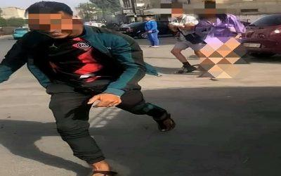 أمن طنجة يلقى  القبض على المتحرش بفتاة وتعريتها في الشارع العام