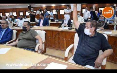 فيديو..دموع وصراخ أعضاء حزب الاستقلال أثناء انتخاب رئيس مقاطعة جليز بمراكش