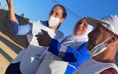 فاطمة الزهراء شعبة مناضلة تدافع عن حقوق المرأة وتدعو الى ادماجها في المجال السياسي